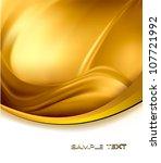 business elegant gold abstract... | Shutterstock .eps vector #107721992