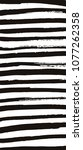 black ink strokes set on white... | Shutterstock .eps vector #1077262358