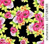 abstract elegance seamless... | Shutterstock .eps vector #1077284285
