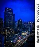 jakarta   april 14  aerial view ... | Shutterstock . vector #1077301208