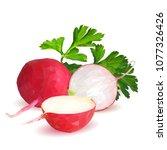 fresh  nutritious  tasty red...   Shutterstock .eps vector #1077326426