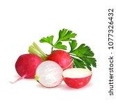 fresh  nutritious  tasty red...   Shutterstock .eps vector #1077326432