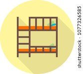 bunk bed icon | Shutterstock .eps vector #1077326585