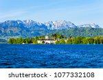 gmunden schloss ort or schloss...   Shutterstock . vector #1077332108