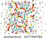 abstract background for summer... | Shutterstock .eps vector #1077344786