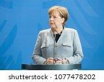 berlin  germany   apr. 10  2018 ... | Shutterstock . vector #1077478202