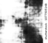 spotted monochrome vector... | Shutterstock .eps vector #1077505148