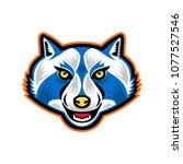 mascot icon illustration of...   Shutterstock .eps vector #1077527546