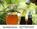 gac fruit oil has medicinal... | Shutterstock . vector #1077531332