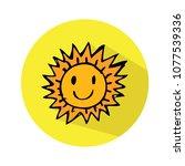 sun icon vector | Shutterstock .eps vector #1077539336