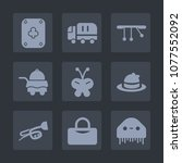 premium set of fill icons. such ... | Shutterstock .eps vector #1077552092