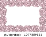 different freehand drawn... | Shutterstock .eps vector #1077559886