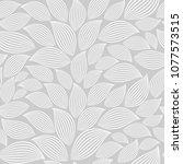 cute floral seamless pattern... | Shutterstock .eps vector #1077573515