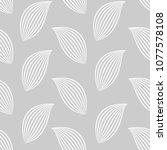 vector illustration of leaves... | Shutterstock .eps vector #1077578108