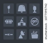 premium set of fill icons. such ...   Shutterstock .eps vector #1077595742