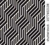 vector seamless pattern. modern ... | Shutterstock .eps vector #1077602138