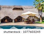 victoria falls  zimbabwe ...   Shutterstock . vector #1077603245