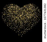 brilliant stars. a glittering... | Shutterstock .eps vector #1077631382