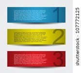 Header Designs With Numbers