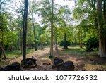 most south sanctuary prasat...   Shutterstock . vector #1077726932
