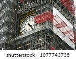 Clockface Of Famous Big Ben...
