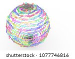 background abstract  made up... | Shutterstock . vector #1077746816
