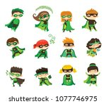 vector illustration in flat... | Shutterstock .eps vector #1077746975