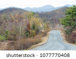 road trip with the natural view ... | Shutterstock . vector #1077770408