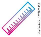 degraded line precision... | Shutterstock .eps vector #1077805496