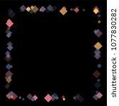 rhombus cosmic minimal... | Shutterstock .eps vector #1077830282