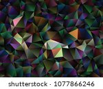 creative illustration in... | Shutterstock .eps vector #1077866246