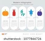 infographics design vector and  ... | Shutterstock .eps vector #1077866726