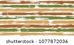 retro watercolor brush stripes... | Shutterstock .eps vector #1077872036