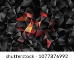 creative illustration in... | Shutterstock .eps vector #1077876992