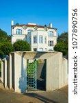 Small photo of Cubist villa (Kovarovicova villa) in Libusina street Vysehrad, Prague, Czech Republic