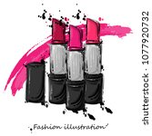 vector abstract illustration of ... | Shutterstock .eps vector #1077920732