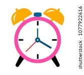 alarm icon. clock icon   clock... | Shutterstock .eps vector #1077922616