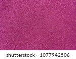 violet pink glitter twinkle... | Shutterstock . vector #1077942506