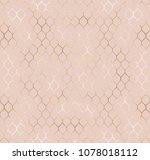 chic gold art deco seamless... | Shutterstock .eps vector #1078018112