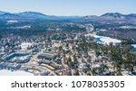 lake placid ny adirondack... | Shutterstock . vector #1078035305