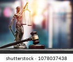 law and justice concept | Shutterstock . vector #1078037438