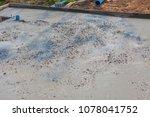 builder  fine cement floor  | Shutterstock . vector #1078041752