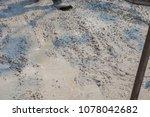 builder  fine cement floor  | Shutterstock . vector #1078042682