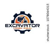 excavator vector logo template. ...