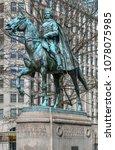 Pulaski Statue at Freedom Plaza in Washington, D.C.