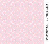 elegant seamless pattern.... | Shutterstock .eps vector #1078112315