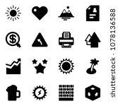 solid vector icon set   sun...   Shutterstock .eps vector #1078136588