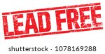 lead free stamp | Shutterstock .eps vector #1078169288