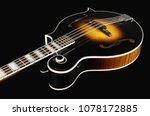 Mandolin Isolated On Black...