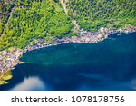 hallstatt old town and... | Shutterstock . vector #1078178756
